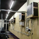 Машинный зал боулинга